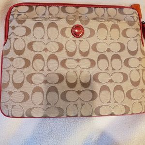 Coach ipad sleeve